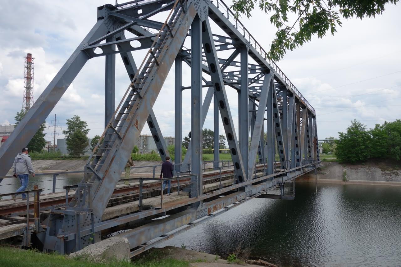 Czarnobyl zwiedzanie - Most na rzece Prypeć, tuż obok elektrowni, Czarnobyl.