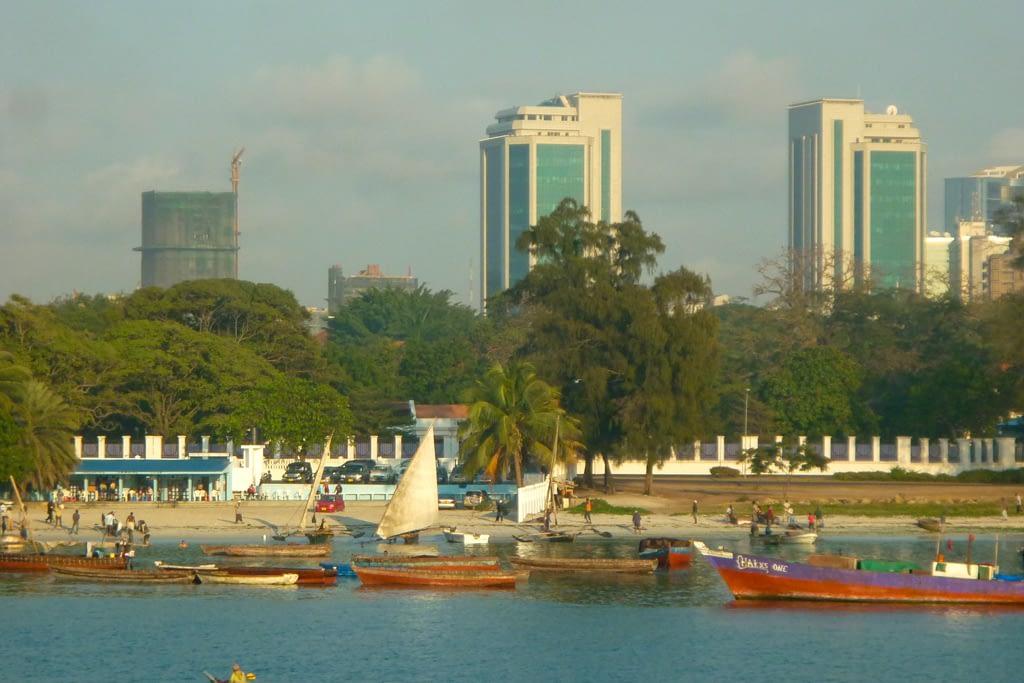 Dar es Salam, dawna stolica Tanzanii (aktualnie jest nią Dodoma), 2012 r.