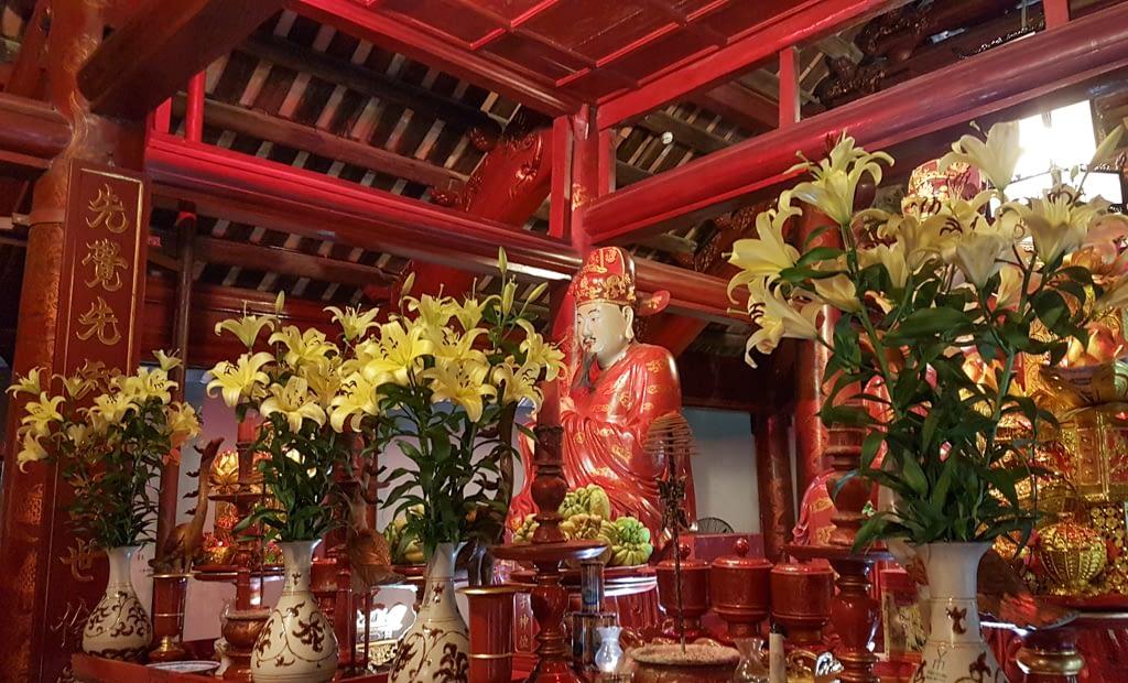 Konfucjusz, Świątynia Literatury, marzec 2019 r.