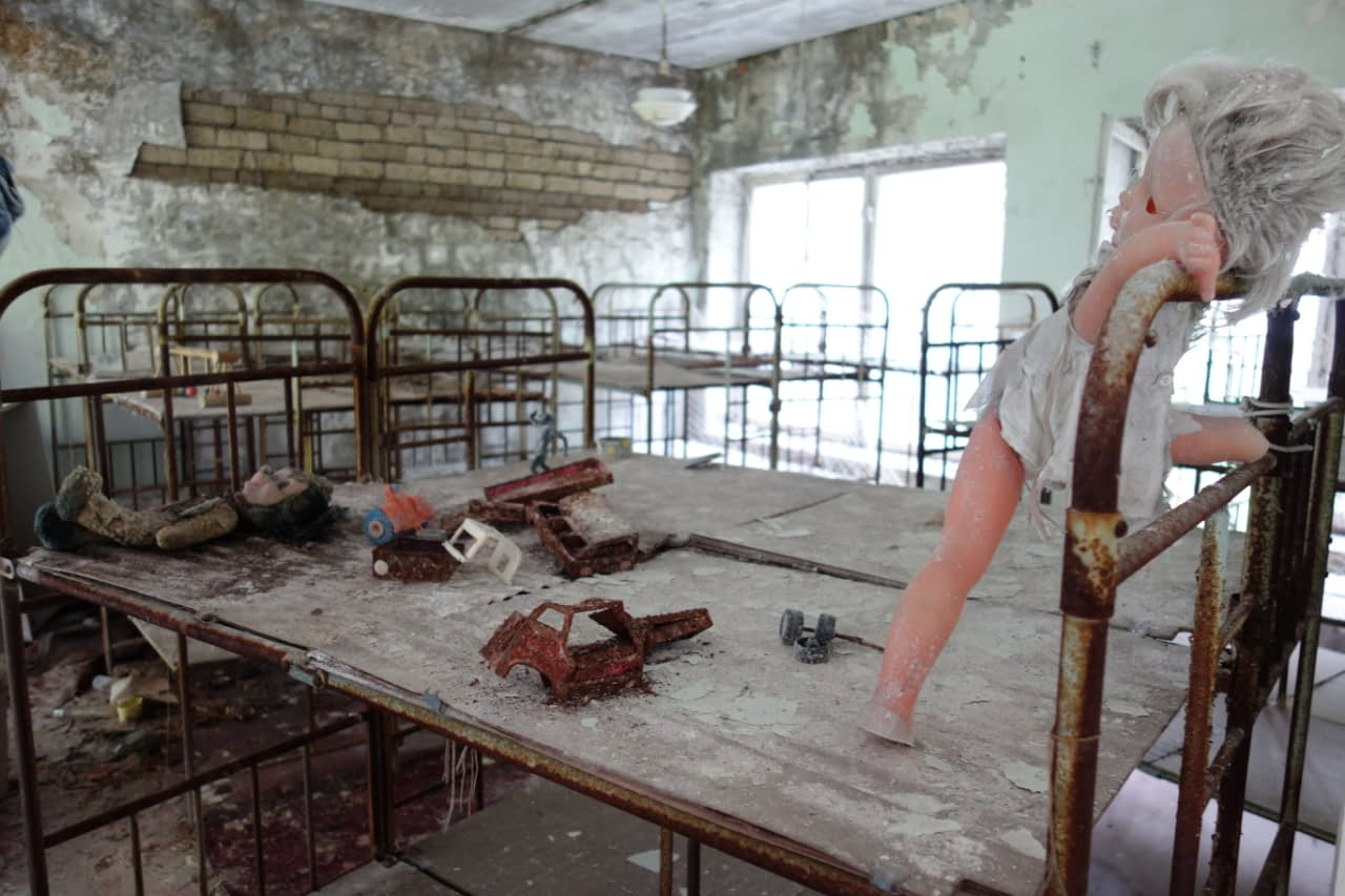 Czarnobyl wycieczka: Przedszkole, Prypeć.