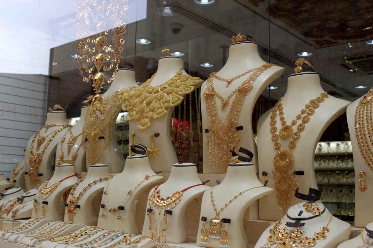 Dubai Gold Souk - Targ złota w Dubaju.