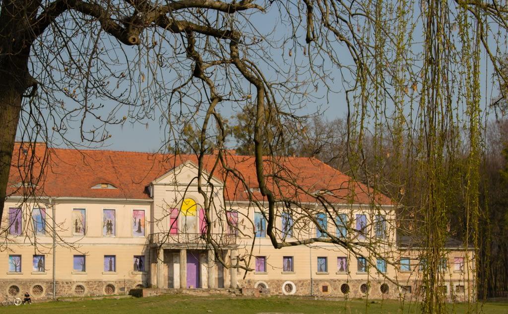 Owińska - okoliece Poznania - pałac rodziny von Treskow