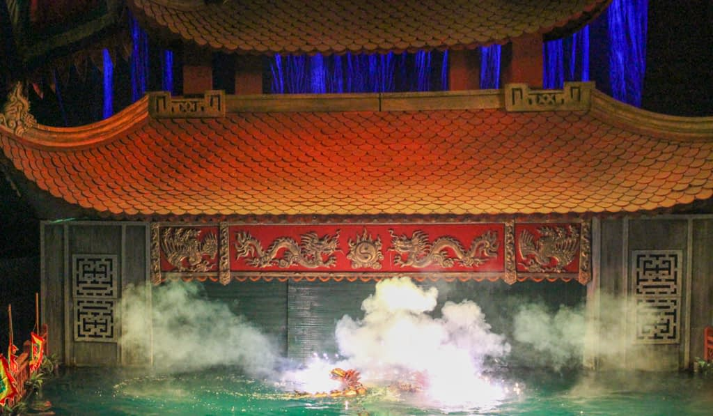 Teatr Lalek - Thang Long Water Puppet Theatre, marzec 2019 r.