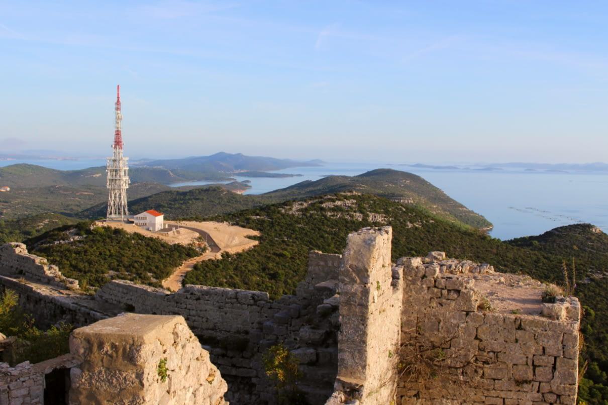 Preko wyspa Uglijan Zadar Chorwacja