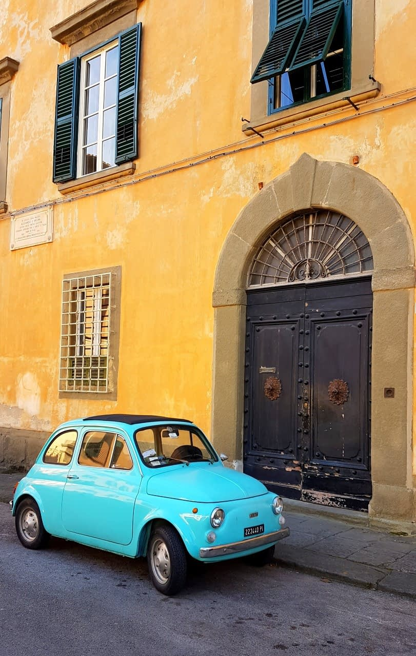 Piza - Fiat 500
