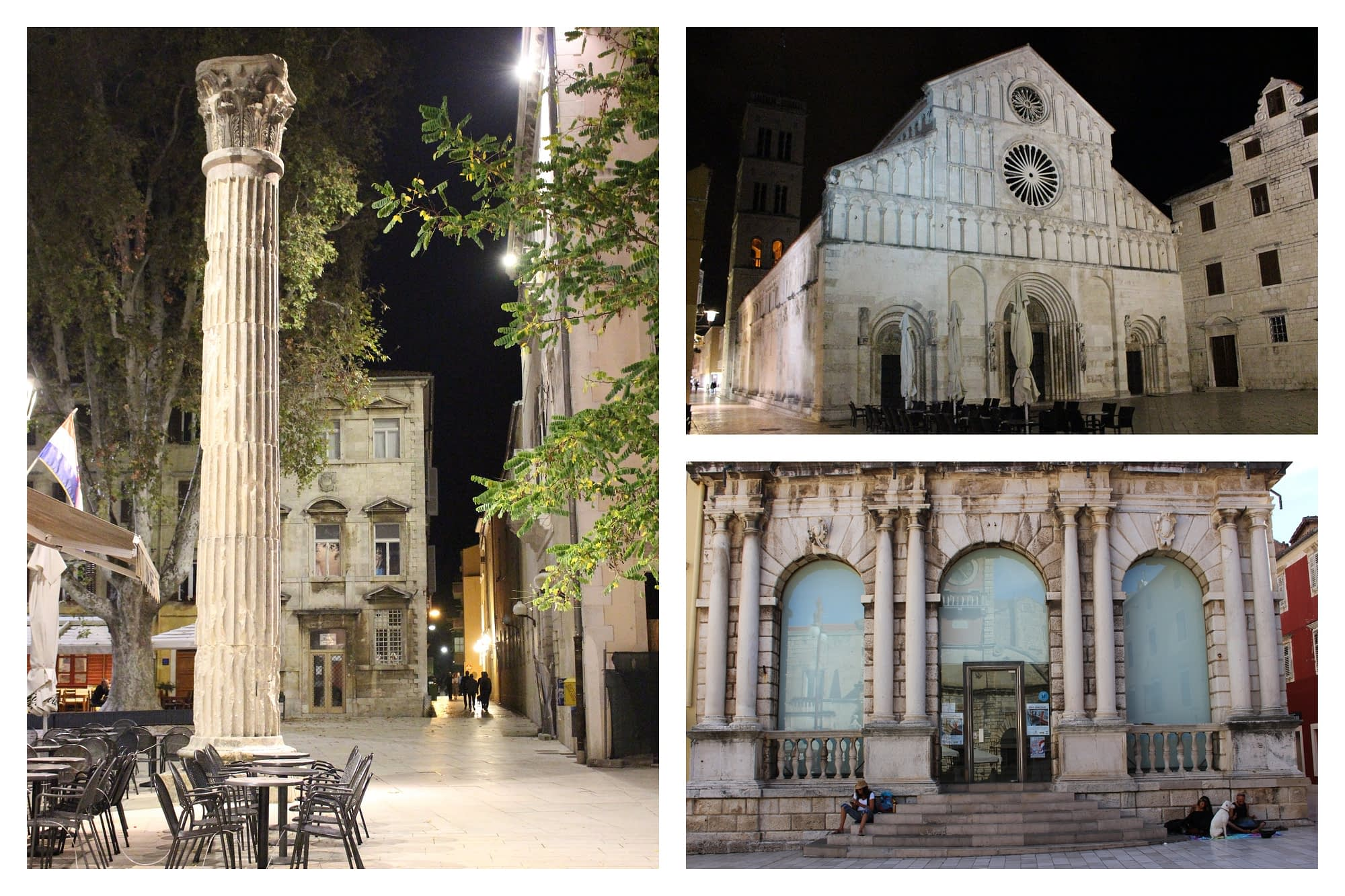 Zadar Chorwacja Stare Miasto