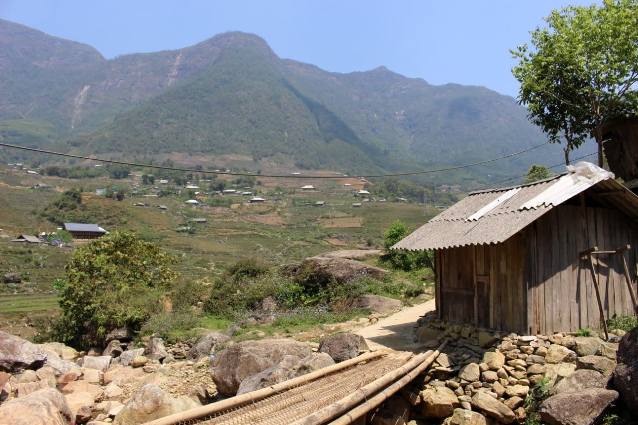 Wietnam północny, okolice Sapa.