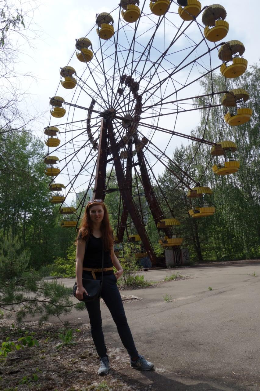 Czarnobyl wycieczka: Diabelski młyn, Prypeć.