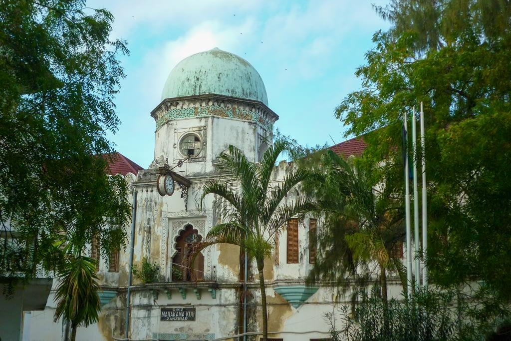 Mahakama Kuu - dawny budynek Sądu Najwyższego, Zanzibar 2012 r.
