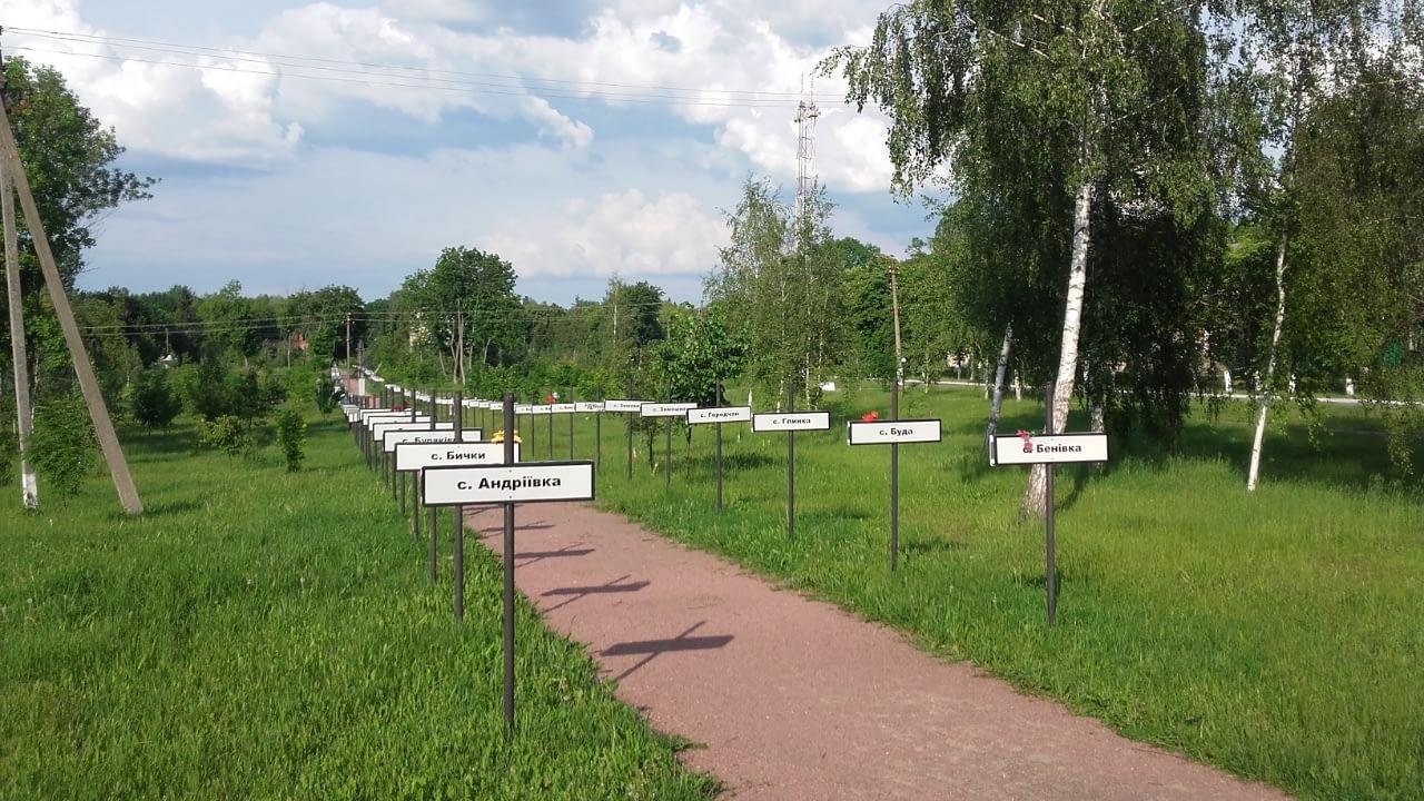 Czarnobyl Muzeum zniszczonych wsi i miasteczek.